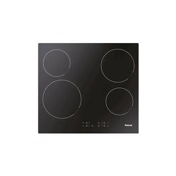 Table de Cuisson Vitro Céramique  FOCUS F816X 4 Feux 60 cm Noir prix tunisie