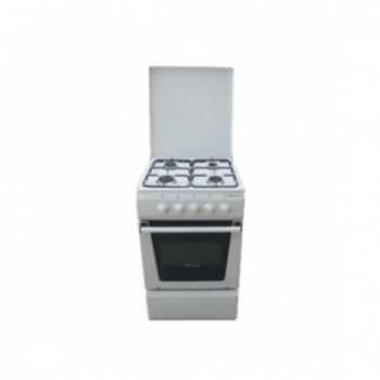 Cuisinière SOTACER 4 Feux 50cm - Blanc (5604CFO)