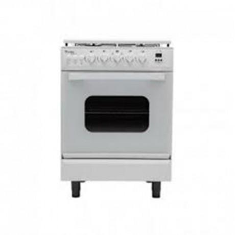 Cuisinière à gaz CONDOR 60*60  4F BL T/B SECUR F4500W