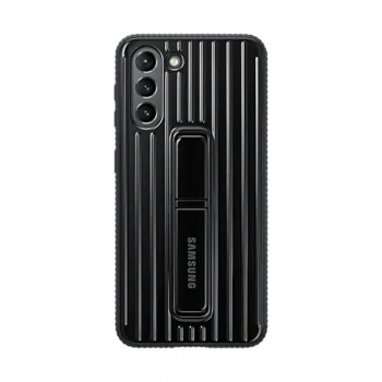 Galaxy S21 Protective Standing Cover Noir