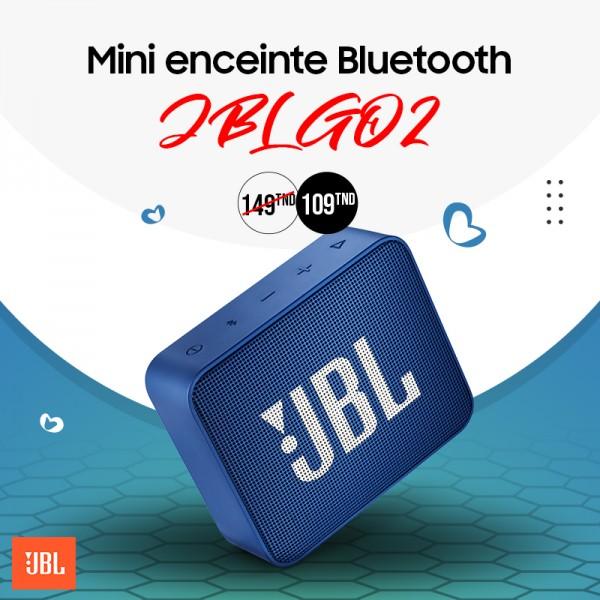 Enceinte JBL Go 2 Bleur