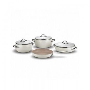 Set de 7 pièces Korkmaz LUMIA Cookware Beige prix tunisie