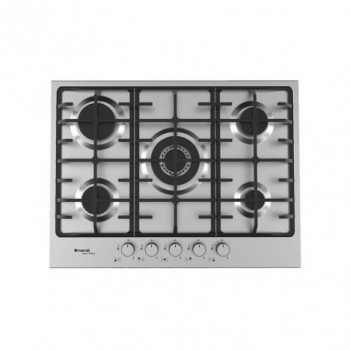 Plaque de Cuisson Encastrable NARDI VG55AVX.T001 5 Feux 70 Cm Inox - prix tunisie