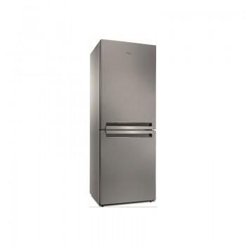 Réfrigérateur Combiné Whirlpool NoFrost 6ème Sens 450L Inox
