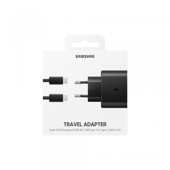 Chargeur Super Rapide Samsung 45W Noir - EP-TA845XBEGWW - prix tunisie
