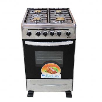 Cuisinière Biolux M.6362X 4 feux Inox - prix tunisie