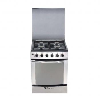 Cuisinière Biolux M.6060X 4 feux Inox - prix tunisie