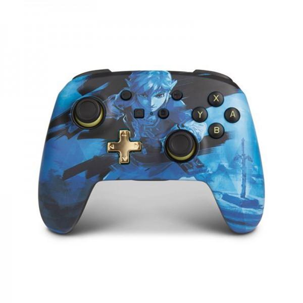 Manette Nintendo Switch Power A zelda blue