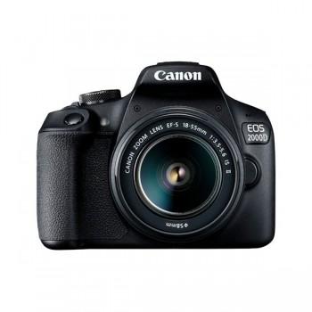 Appareil photo Reflex Numérique Canon EOS 2000D + Objectif 18-55 IS (PHO-EOS-2000D) - prix tunisie
