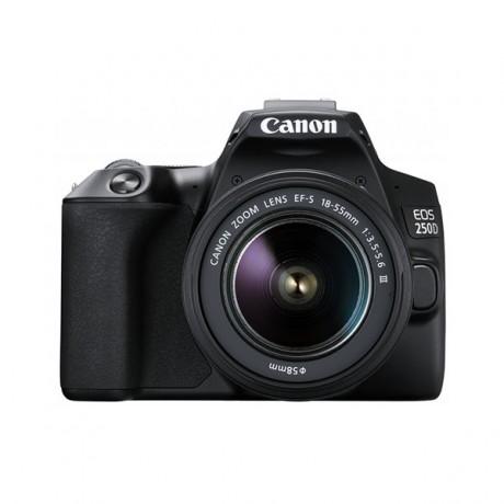 Appareil Photo Reflex Canon EOS 250D 4k + Objectif 18-55mm IS(PHO-EOS-250D) - prix tunisie