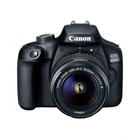 Appareil Photo Reflex Numérique Canon EOS 4000D + Objectif 18-55mm DC (PHO-EOS-4000D) - prix tunisie