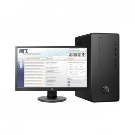 PC DE BUREAU HP PRO 300 G6 _ I3- 10E GEN 4GO 1TB + P21 ÉCRAN  (294U6EA)