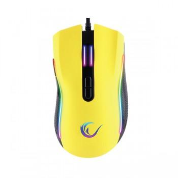 Souris Gaming Pro Rampage SMX-R44 - RGB - 6400 DPI - Jaunr - prix tunisie