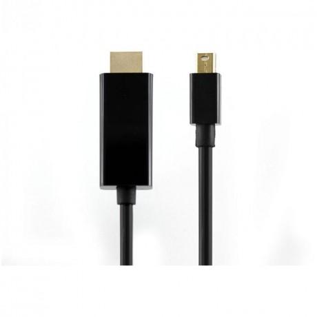 CABLE HDMI - MINI DISPLAY PORT M/M 2M - HDMI-MINI-DP-2 SBOX