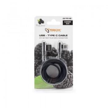 USB-TYPEC-90 Black SBOX