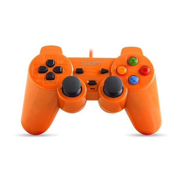 Manette De Jeux USB Avec Analogue Snopy SG-302_OR - Orange - prix tunisie