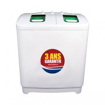 Machine à Laver Orient Semi-Automatique 7Kg - XPB1-12-5P - Blanc - Prix Tunisie & fiche technique