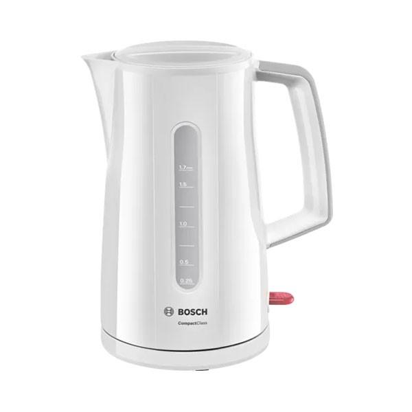 Bouilloire Compact Class Bosch 1.7 L - TWK3A011 - Blanc - prix tunisie