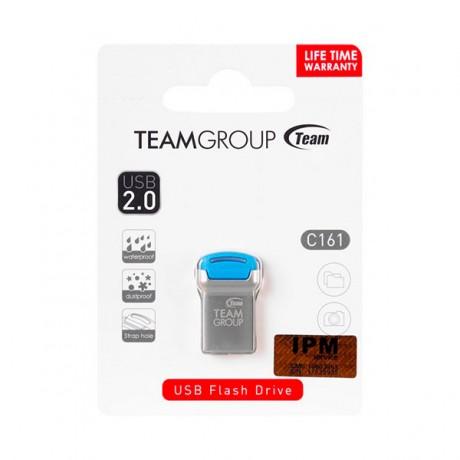 Clé USB 2.0 TeamGroup C161 / 32 Go / Silver & Bleu