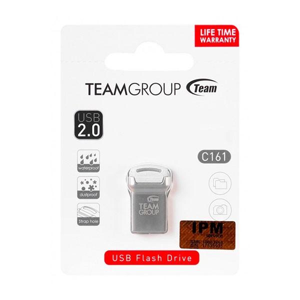 Clé USB 2.0 TeamGroup C161 / 32 Go / Silver & Blanc