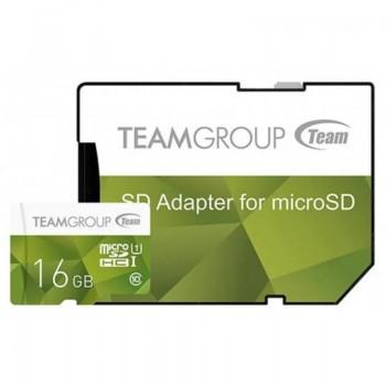 Carte mémoire TeamGroup Color 16 Go microSDXC UHS-I/U1 Class 10