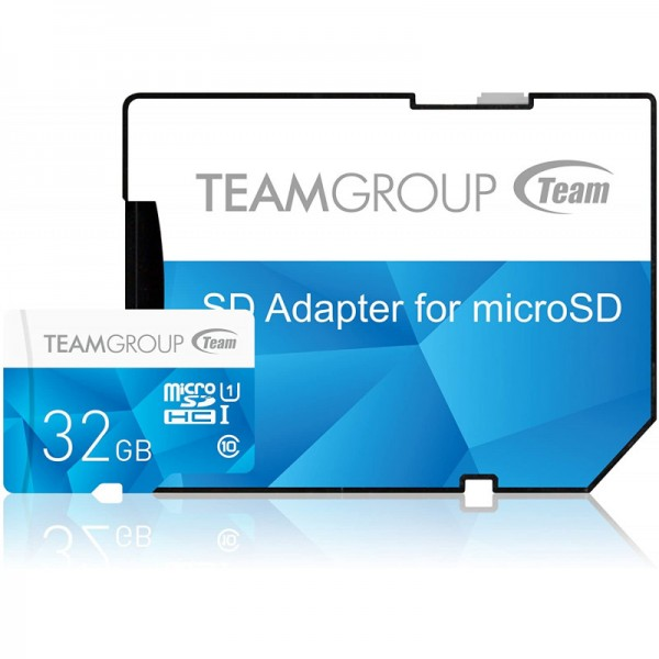 Carte mémoire TeamGroup Color 32 Go microSDXC UHS-I/U1 Class 10