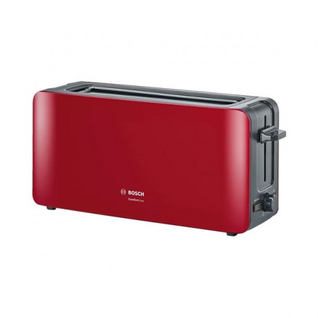 Grille-pain Comfort Line Bosch TAT6A004 - Rouge - prix tunisie