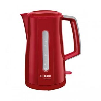 Bouilloire Compact Class Bosch 1.7 L - TWK3A014 - Rouge -  prix tunisie
