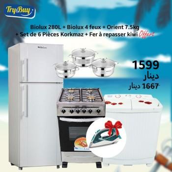 Réfrigérateur BIOLUX 280L +...