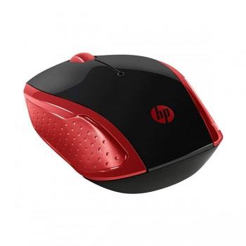 Souris Sans Fil Optique HP 200 Silk 2HU82AA - Rouge - prix tunisie
