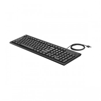Clavier Filaire HP USB 2UN30AA-ABF - Noir - prix tunisie