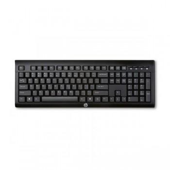Clavier Sans Fil HP K2500 - Noir (E5E78AA) - prix tunisie