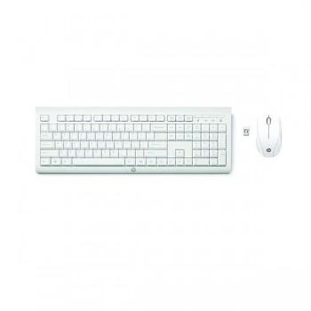 Ensemble Clavier + Souris HP C2710 Combo Sans Fil Blanc - prix tunisie