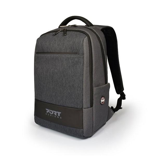 "Sac à Dos Port Designs Boston Backpack 13'' / 14"" 135067 - Gris - prix tunisie"