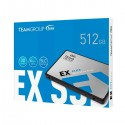 "Disque SSD Interne TeamGroup EX2 512 Go 2.5"" SATA III - prix tunisie"
