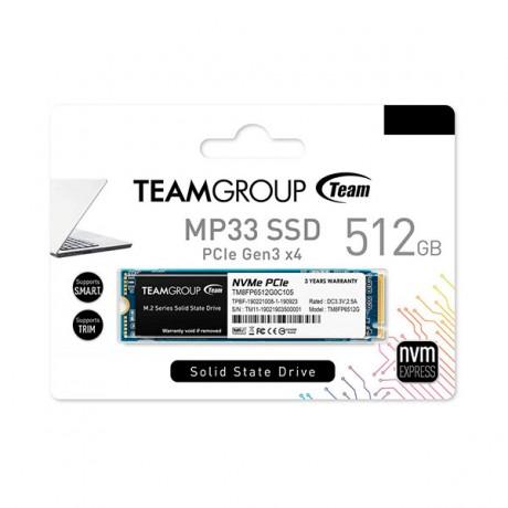 Disque Dur Interne SSD M.2 TeamGroup MP33 / 512 Go -prix tunisie