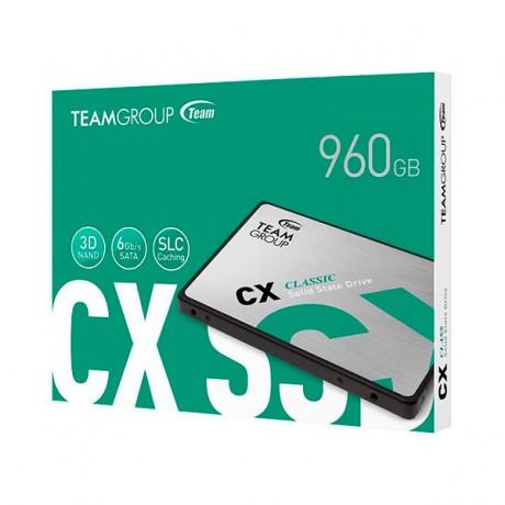 "Disque SSD Interne TeamGroup CX1 960 Go 2.5"" SATA III - prix tunisie"