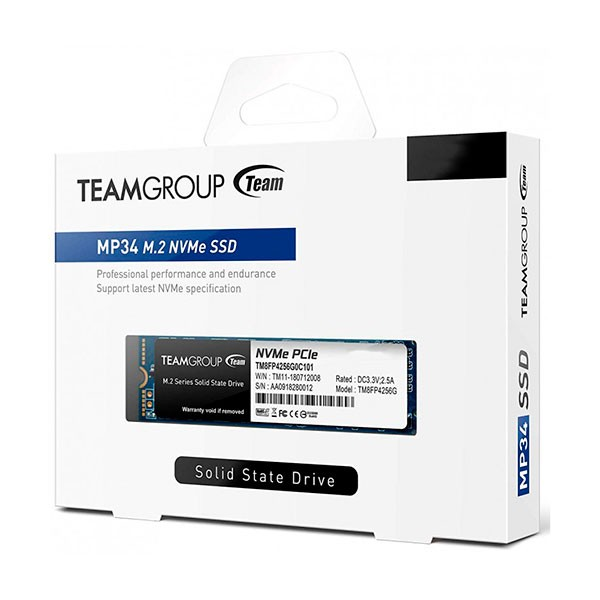 Disque Dur Interne SSD M.2 2280 TeamGroup MP34 / 1 To  - prix tunisie