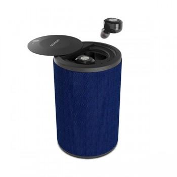 Écouteur Bluetooth Ledwood Dual TWS - Bleu - 50871 - prix tunisie