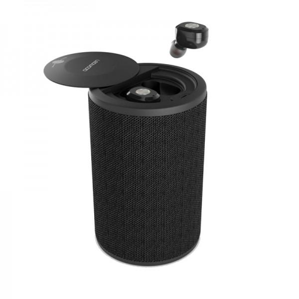 Écouteur Bluetooth Ledwood Dual TWS - Noir - 50870 - prix tunisie