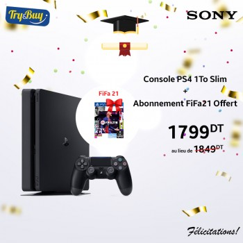 CONSOLE PS4 1TO SLIM +...