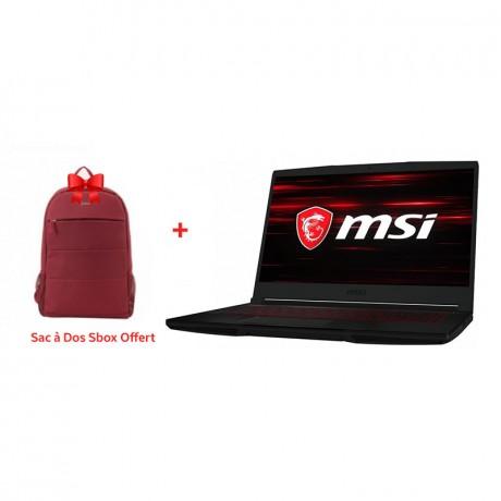 PC Portable Gamer MSI GF63 Thin i7 10è Gén 16Go 512 Go SSD (GF63THIN10SCSR1206XF)