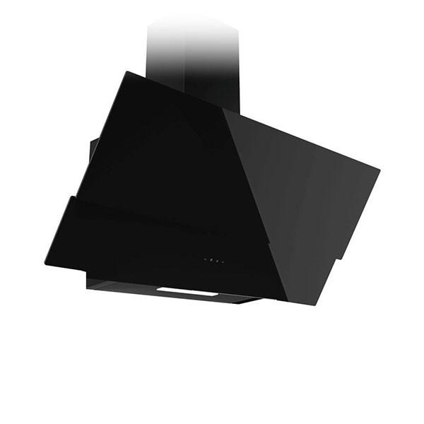 Hotte Décor Focus 90 cm Galaxy90 Tactile - Vitro Noir - prix tunisie