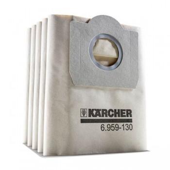 Sachets Filtre Karcher Pour WD3 + SE4001 5 Pièces - 6.959-130.0 - prix tunisie