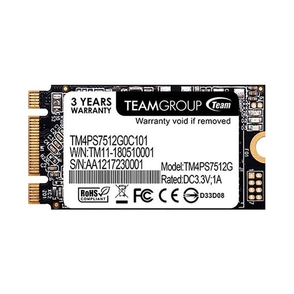 Disque Dur SSD TeamGroup M.2-2242 SATA3 MS30 - 512 GO - prix tunisie