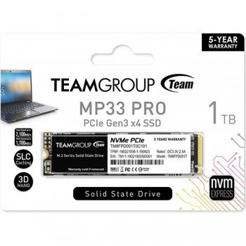 Disque Dur Interne SSD M.2 TeamGroup MP33 Pro - 1 To - prix tunisie