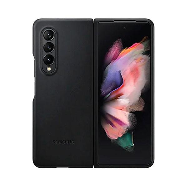 Samsung Galaxyz Z Fold3 Leather Cover - Noir - EF-VF926LBEGWW -prix tunisie