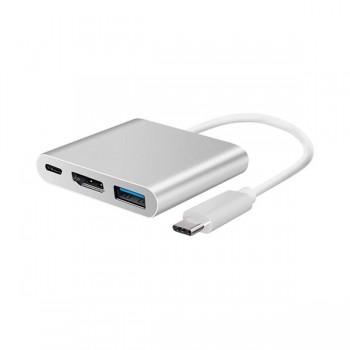 Adaptateur Type-c to 4k HDMI- USB3,0 - PO - prix Tunisie