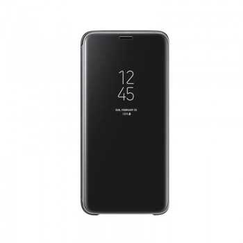 Clear View Standing Cover Galaxy S9 Noir EF-ZG960CBEGWW Tunisie