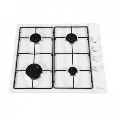 Plaque de cuisson Candy 4 feux CLG64SPB Blanc